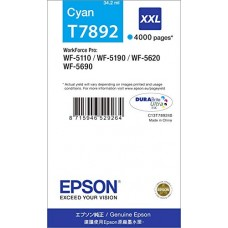 Epson Ink cyan T7892 XXL