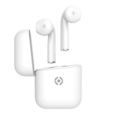 Celly, True Wireless Headset ZED für bluetoothfähige Geräte, Weiss
